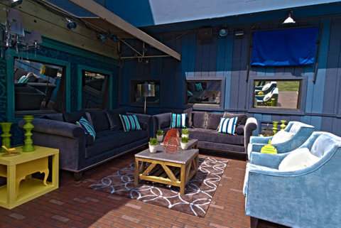 Big Brother 13 house – backyard