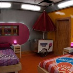 Big Brother 13 house - candy room