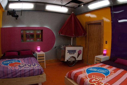 Big Brother 13 house – candy room