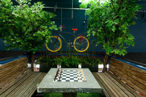 Big Brother 13 house – chess table