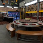 Big Brother 13 house - dining table