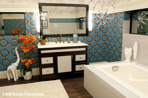 Big Brother 13 House – HoH bathroom