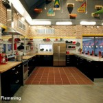 Big Brother 13 House - kitchen