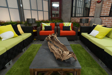 Big Brother house living room