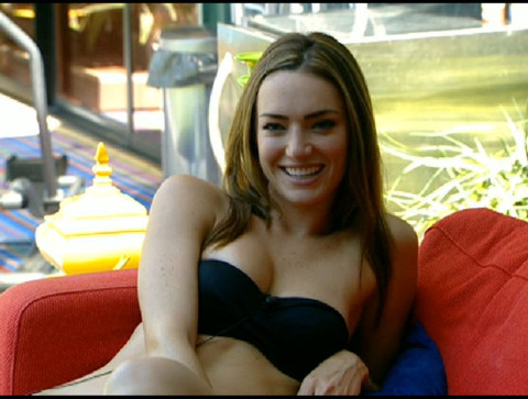 Big Brother 13 Cassi in a bikini