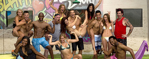 Big Brother 13 cast in swimsuits