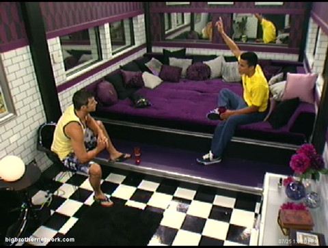 Big Brother 13 Dominic fights with Jeff