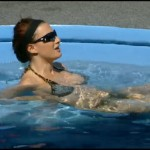 Big Brother 13: Rachel in the hot tub