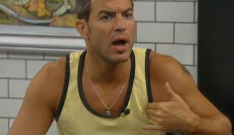 Big Brother 13 Jeff and Dominic fight