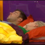 Big Brother 13: Jeff and Jordan taking a nap