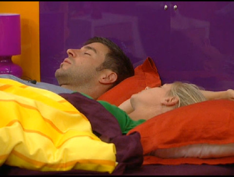 Big Brother 13: Jeff and Jordan taking a nap