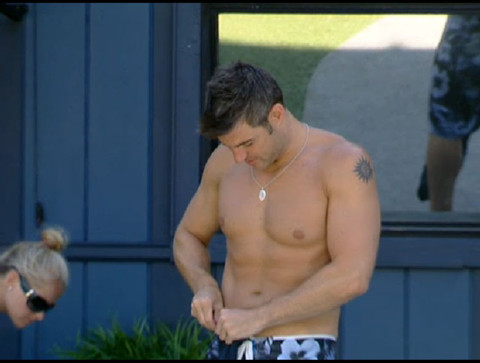 Big Brother 13 Jeff bare chested