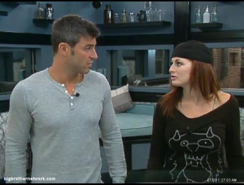 Big Brother 13 Jeff and Rachel