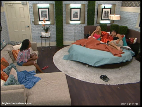 Big Brother 13 Kalia talks to Jeff and Jordan