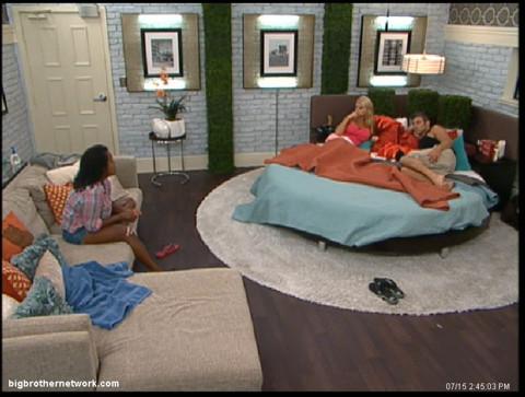 Big Brother 13 Kalia talks to Jeff and Jordan