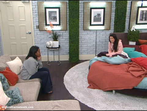 Big Brother 13 Kalia and Daniele