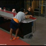 Big Brother 13 Cassi and Lawon take on the jelly beans