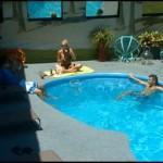 Big Brother 13 poolside