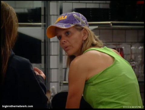 Big Brother 13 Shelly shares notes with Cassi
