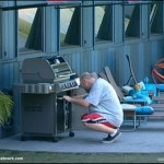 Big Brother 13 Adam and the grill