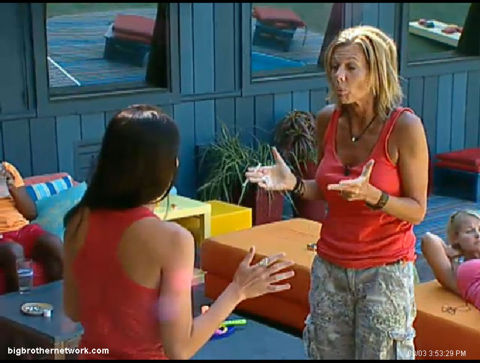 Big Brother 13 Shelly and Daniele