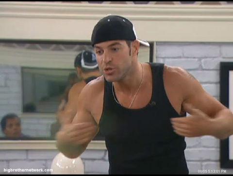 Big Brother 13 Jeff yelling