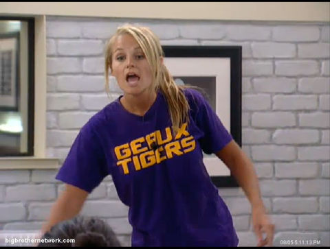 Big Brother 13 Jordan yelling
