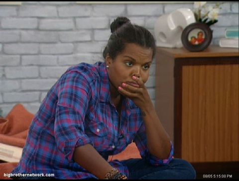 Big Brother 13 Kalia thinking