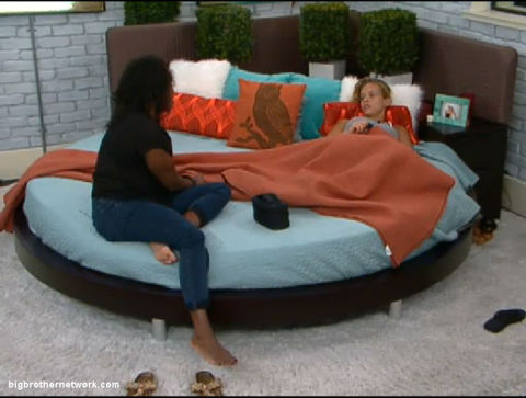Big Brother 13 Kalia and Porsche