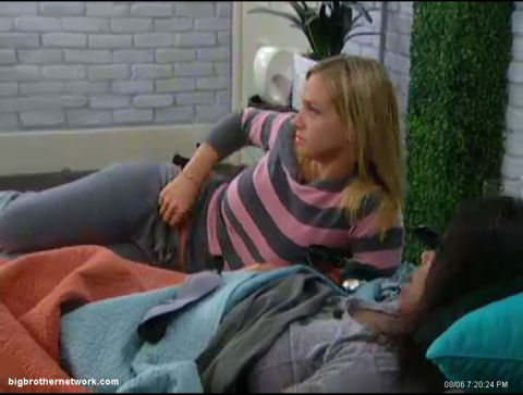 Big Brother 13 Porsche and Kalia