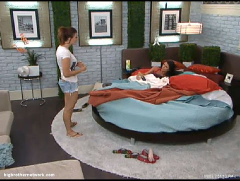 Big Brother 13 Rachel and Daniele