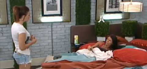 Big Brother 13 Rachel and Daniele argue