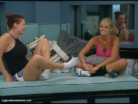 Big Brother 13 Rachel and Jordan