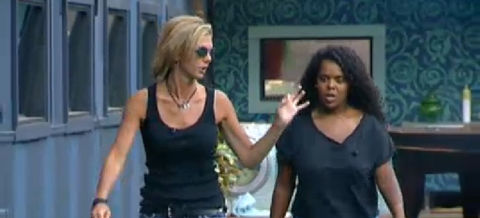 Big Brother 13 Shelly and Kalia