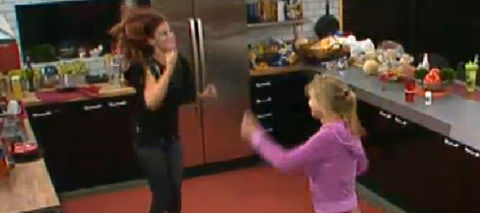 Big Brother 13 Rachel and Porsche celebrate