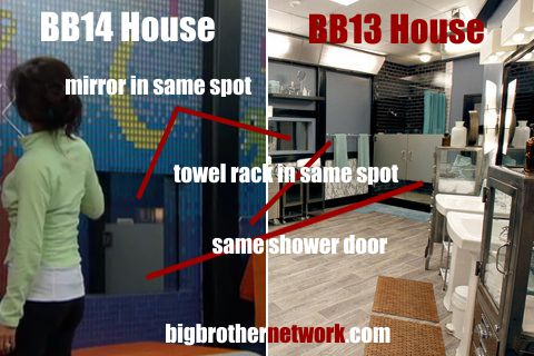 Big Brother 14 - bathroom details