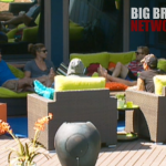 BB14 Group in the backyard