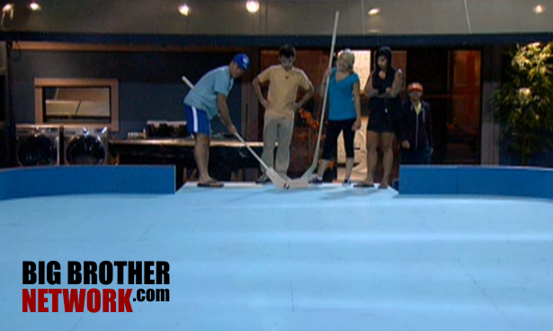 BB14 Live Feeds HOH game