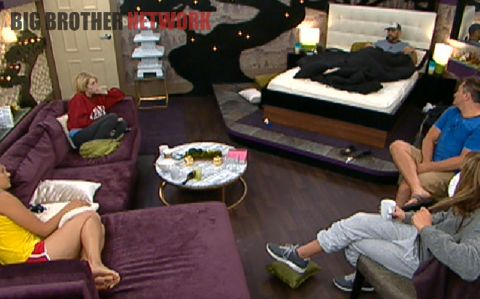 Big Brother 14 live feeds - HoH room