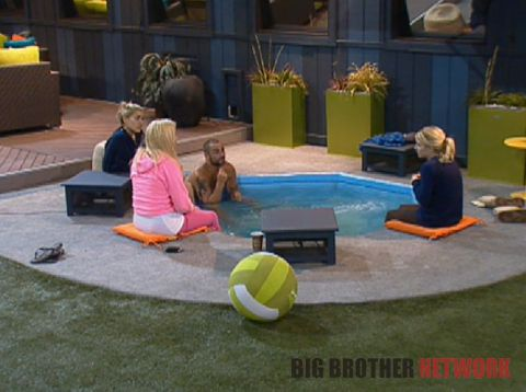 Big Brother 14 20120713 – Hot tub talk