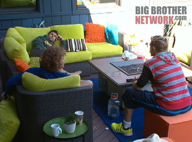 Big Brother 14 20120714 – Frank, Shane, and Boogie