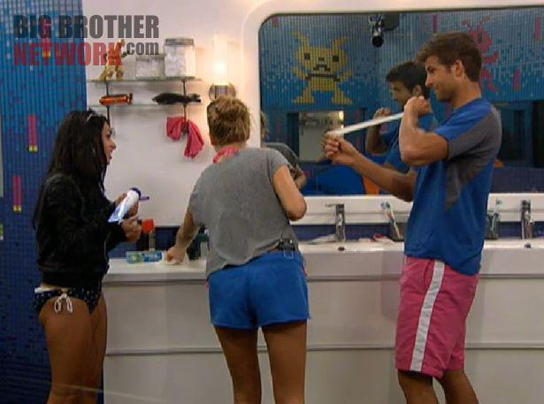 Big Brother 14 20120714 – JoJo, Kara, and Shane