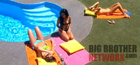 Big Brother 14 poolside