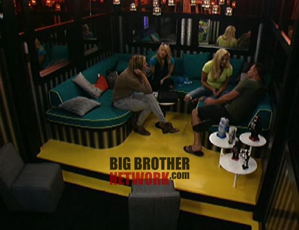 Big Brother 14 20120715 - Wil, Ashley, Janelle, and Joe