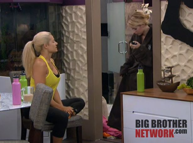 Big Brother 14 20120716 – Britney and Janelle