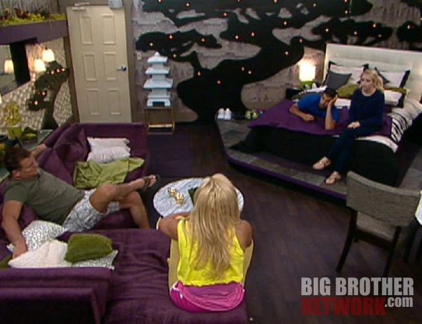 Big Brother 14  20120727 – Joe, Janelle, Shane, and Britney