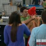 Big Brother 14 - Ian and Ashley kiss