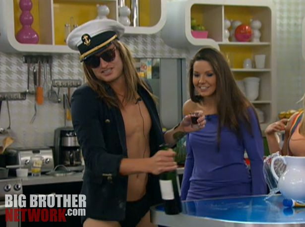 Big Brother 14 20120728 party – Wil and Danielle