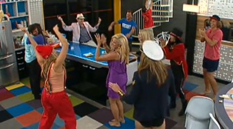 Big Brother 14 house party