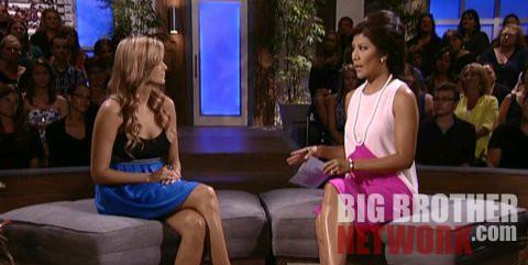 Big Brother 14 - Kara Monaco evicted